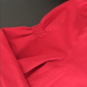 JK Designs Shirts & Tops - Red Top with Ruffles